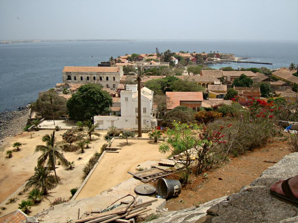 Panorama Île de Gorée Sénégal Afrique