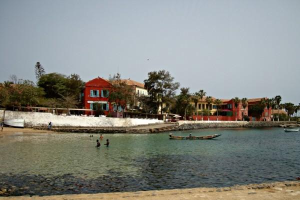 Plage Île de Gorée Sénégal Afrique