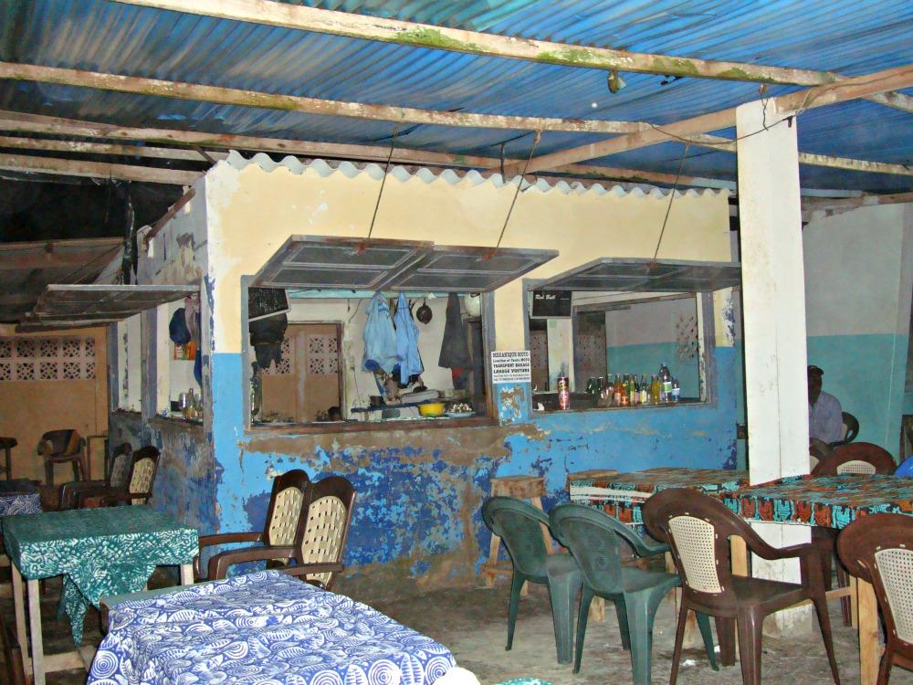 Restaurant Pointe des Almadies Dakar Sénégal Afrique
