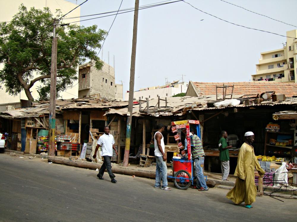 Rue des Dardanelles Dakar Sénégal Afrique