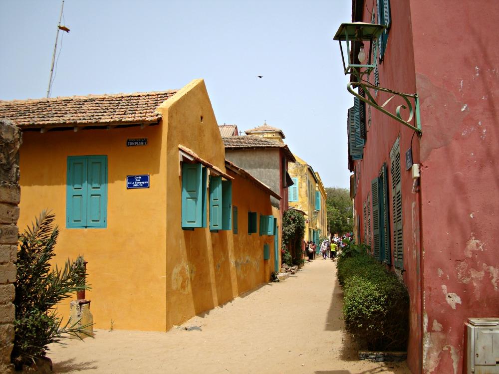 Rue de Gorée Sénégal Afrique