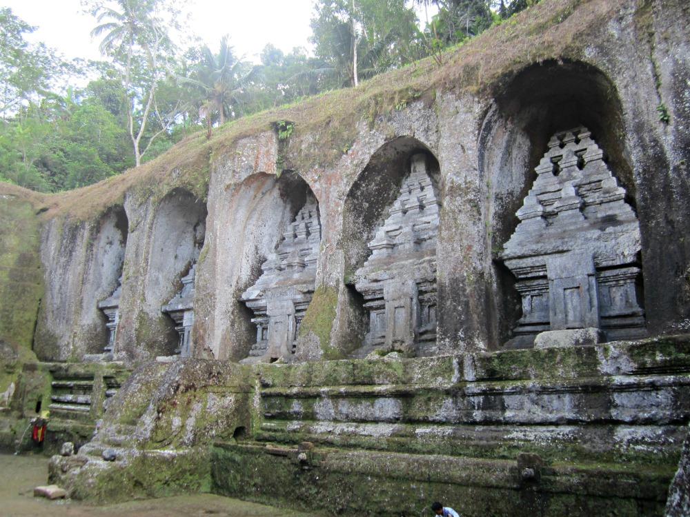 Les candis du Gunung Kawi à Tampaksiring, Bali