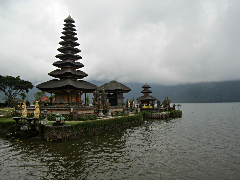 Le Danau Bratan à Bedugul, Bali