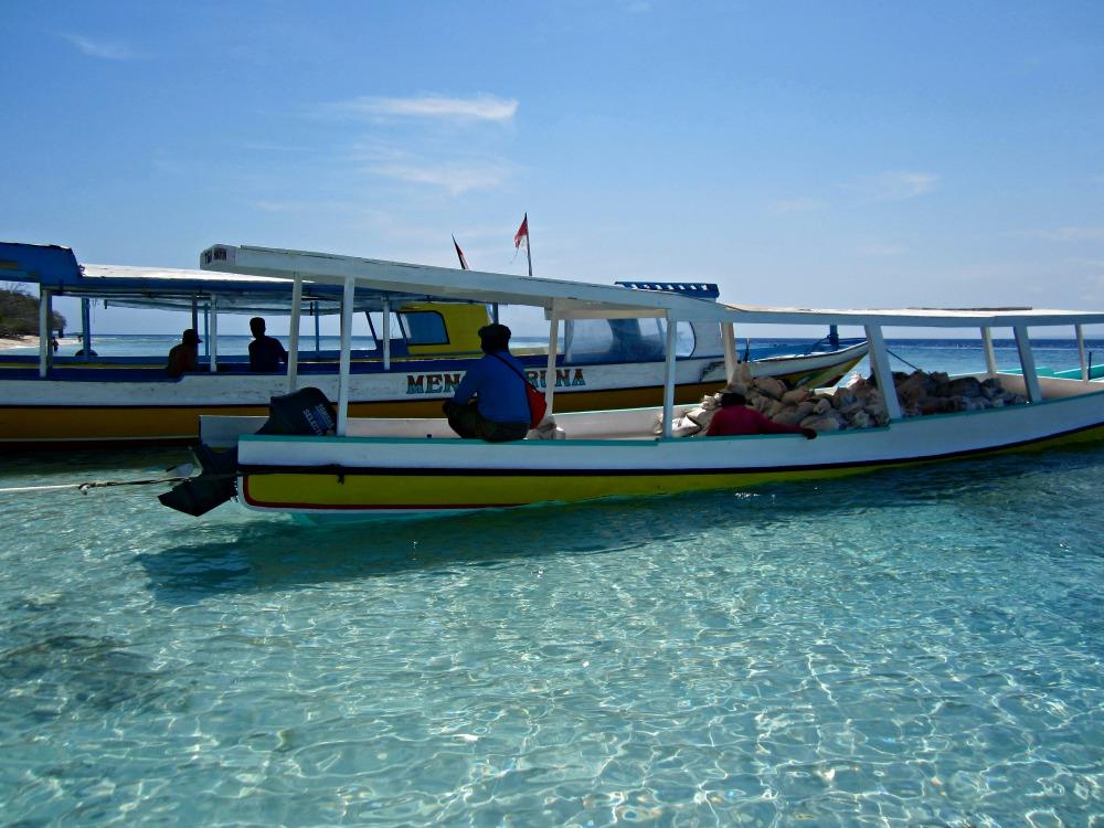 Débarcadère de Gili Air, Bali