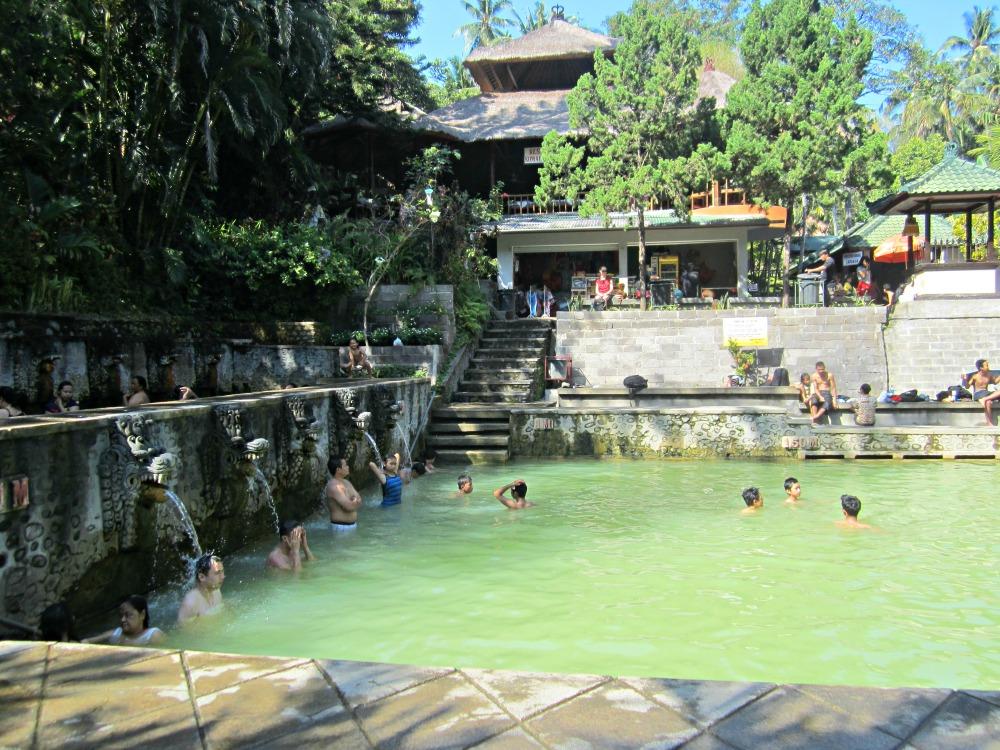 Hot springs à Lovina, Bali