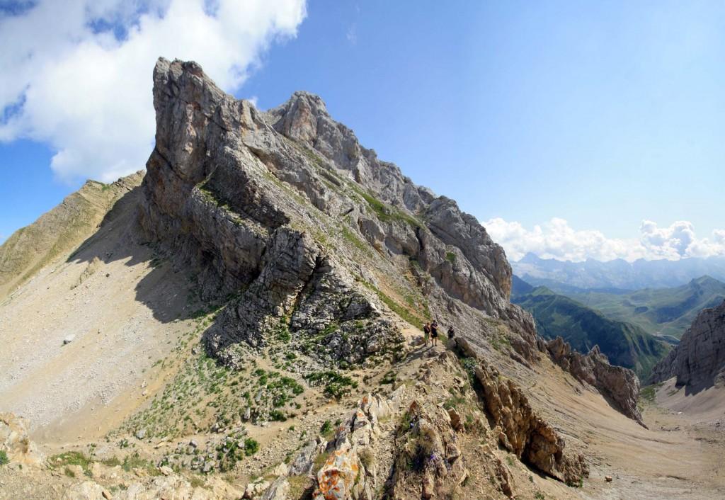 Aiguille Blanche depuis le Col du Rasoir