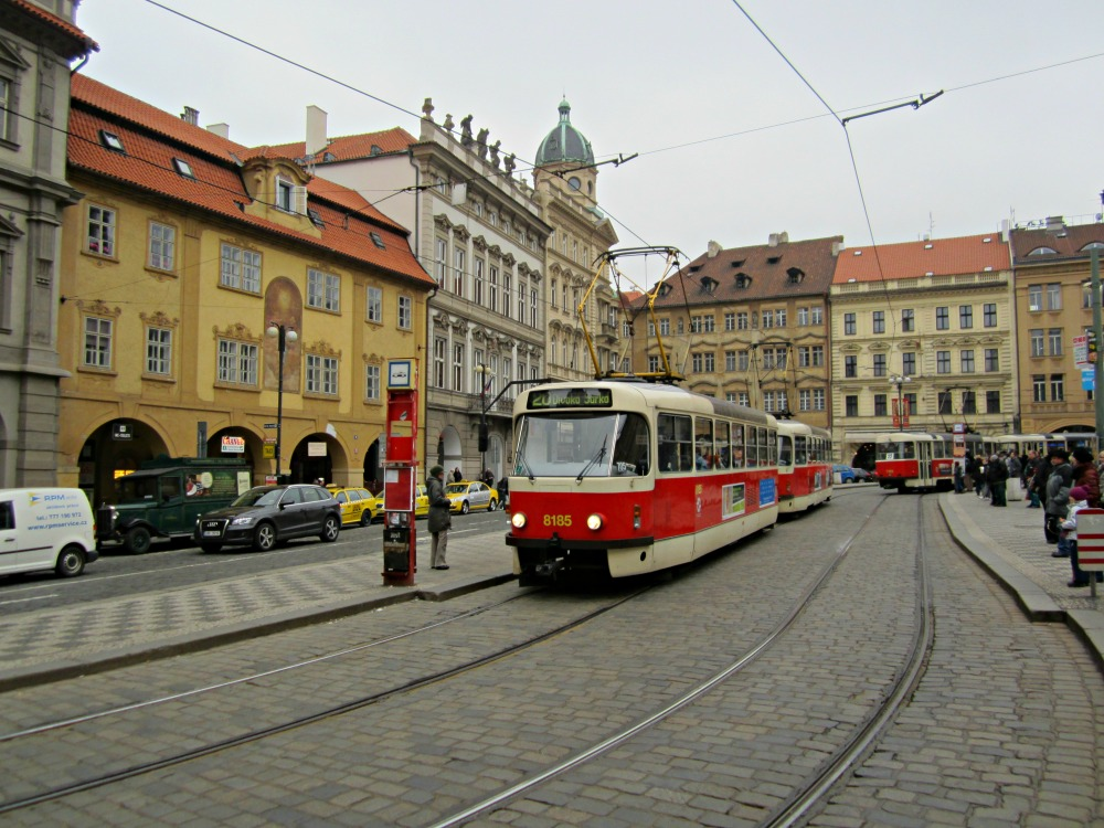 Tramway de Prague