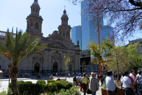 plaza des armas santiago du chili blog voyage trace ta route