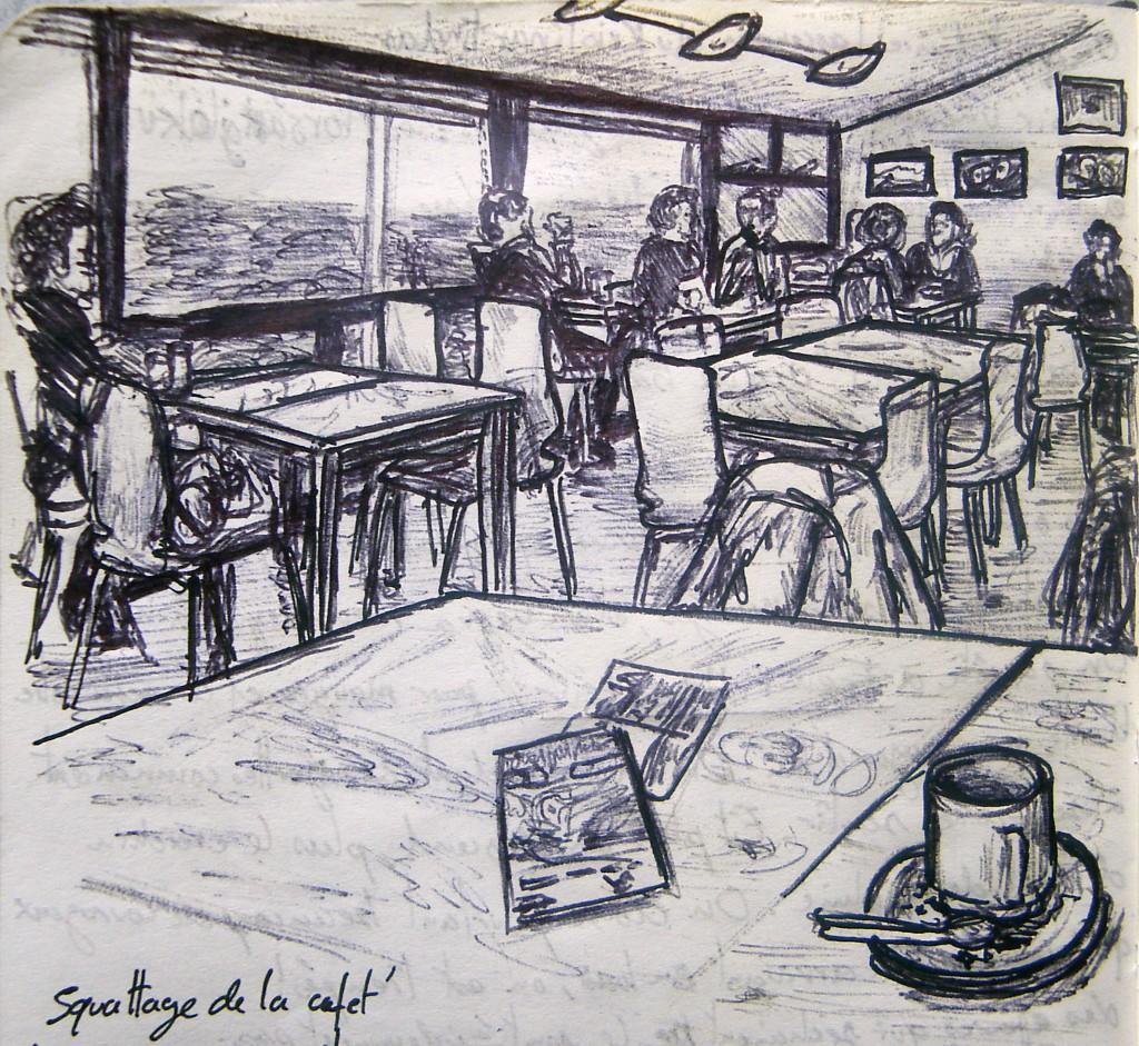 Squattage de la cafét du Centre de Skaftafell, Islande © L'Oeil d'Édouard