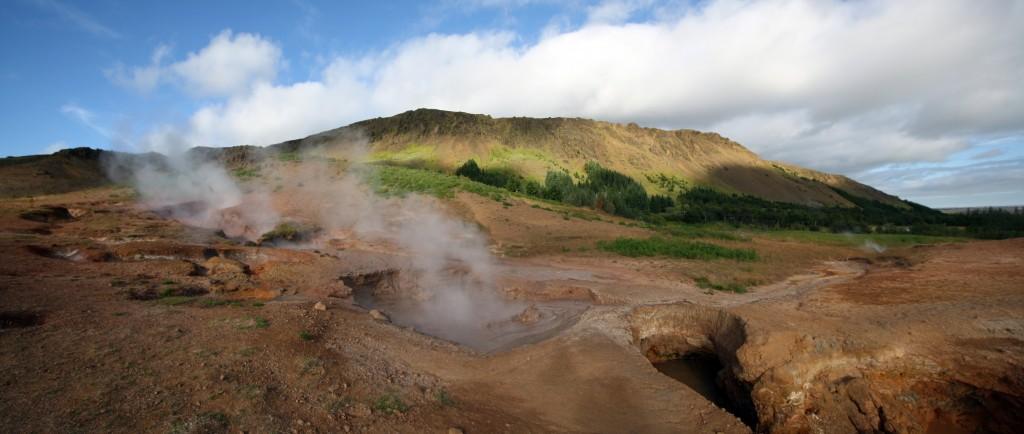 Marmites bouillantes Hveragerdi, Islande