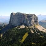 Ascension du Mont Aiguille, par la voie normale.