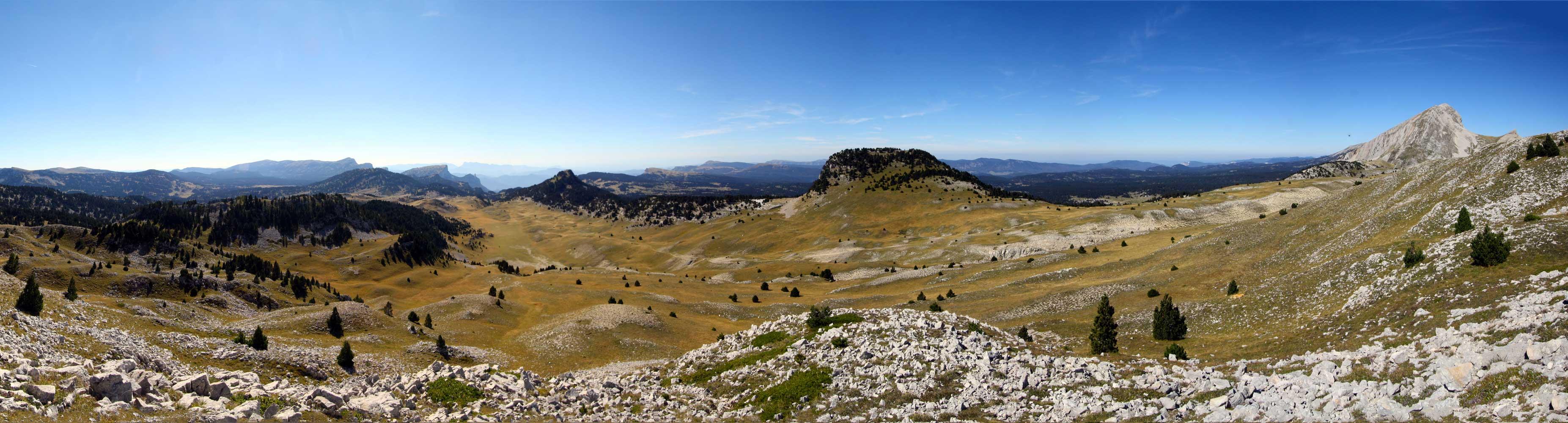 Peyre Rouge, plateau du Vercors