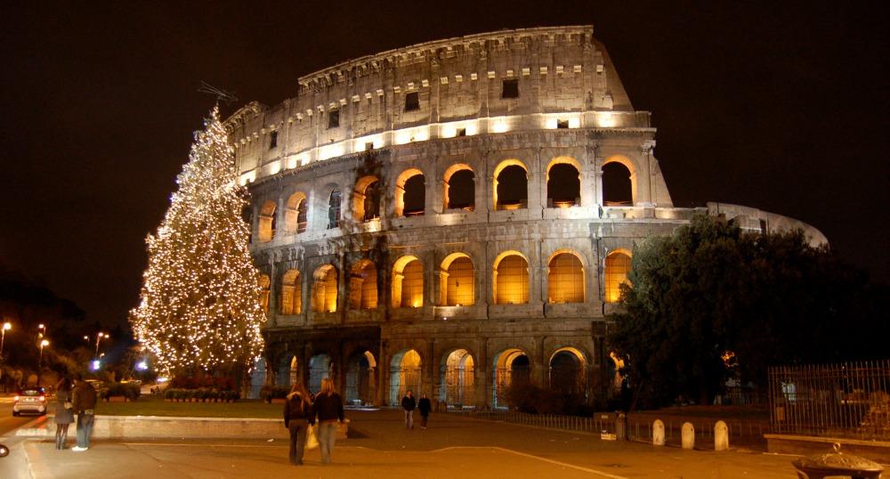 Passer les fêtes à Rome, le Colisée, Italie