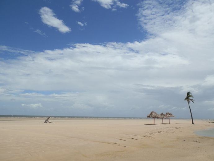 île marajo au brésil, praia do pesqueiro - blog voyage trace ta route