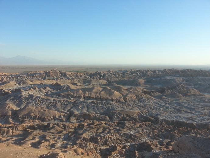 paysage crêtes vallée de la mort san pedro de atacama blog voyage trace ta route