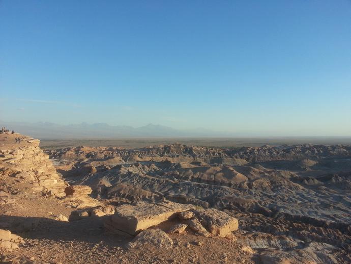 paysage profondeur vallée de la mort san pedro de atacama blog voyage trace ta route