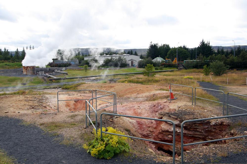 Parc géothermique de Hveragerdi (Islande)