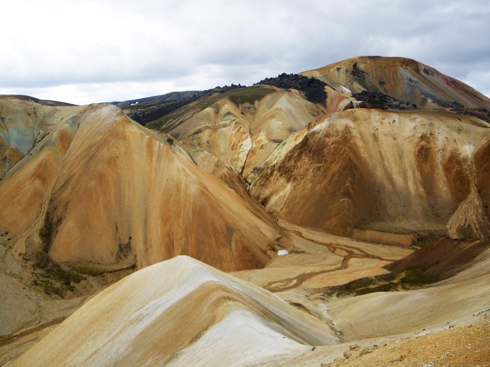 Brennisteisalda depuis Blahnukur à Landmannalaugar, Islande