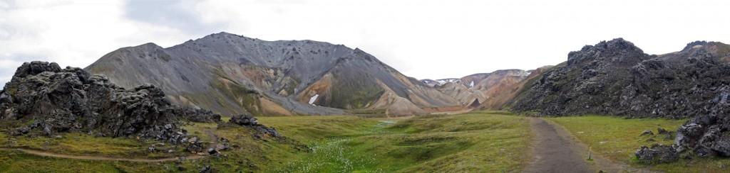 Blahnukur à Landmannalaugar, Islande