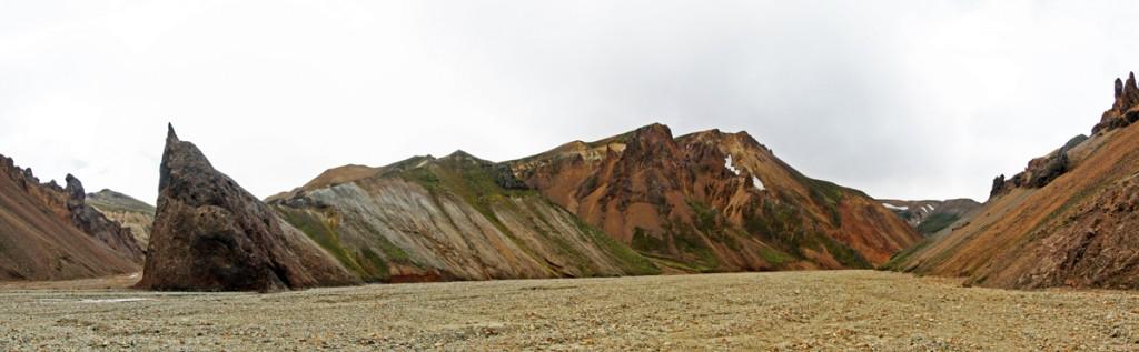 Ravine à Landmannalaugar, Islande