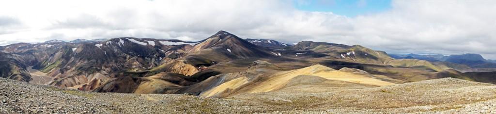Sudurnamur à Landmannalaugar, Islande