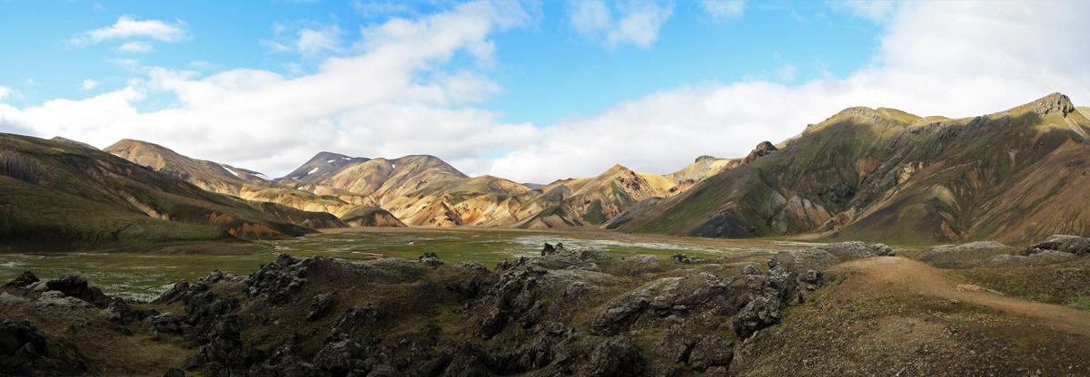 Randonnée Montagne Vondugil Landmannalaugar Islande Paysage Iceland Islensk Wild Outdoor Hiking Mountain Landscape
