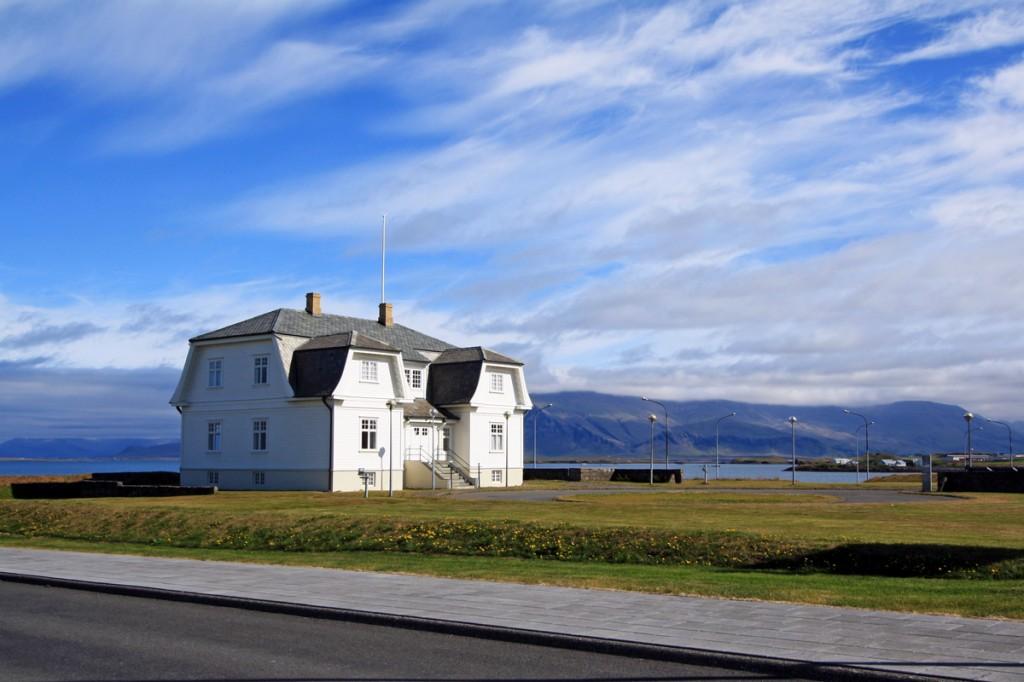 Maison Hofdi House à Reykjavik, Islande