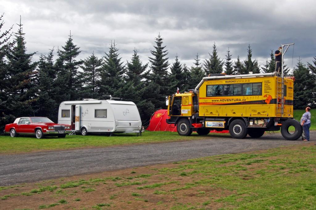 Camping de Reykjavik, Islande