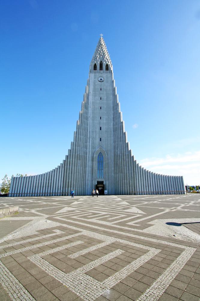 Cathédrale Hallgrimskirkja de Reykjavik, Islande
