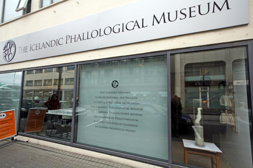 Le Musée du Phallus de Reykjavik (Islande)