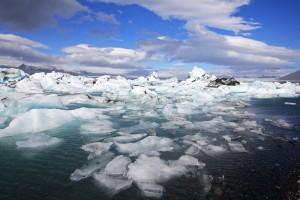 Icebergs à Jökulsárlón, Islande
