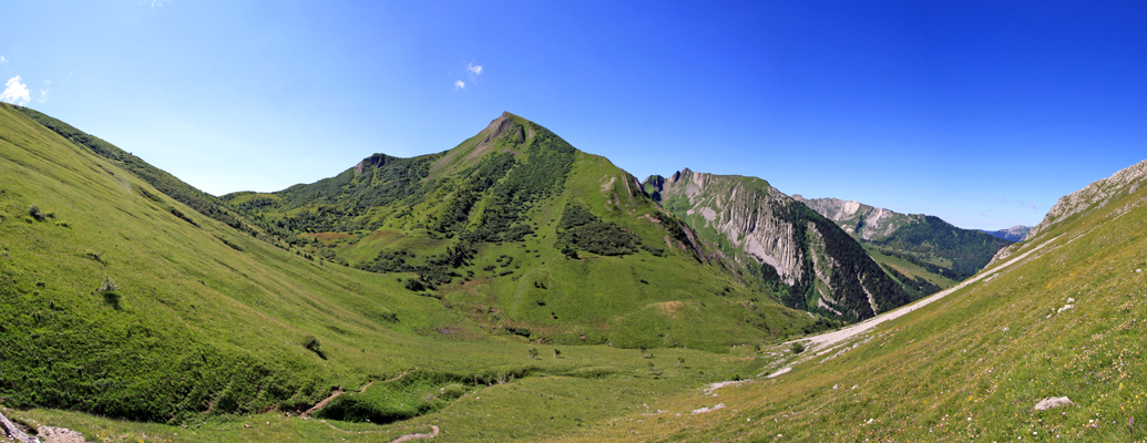 Pointe des Arces (depuis l'Arête de l'Arpette)