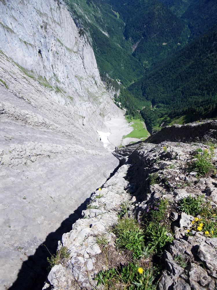 Rails du Pécloz (Face Nord Est)