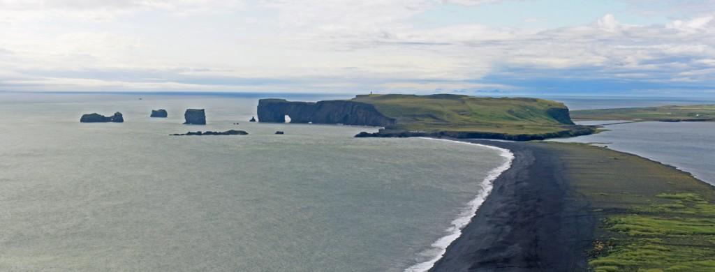 Dyrholaey depuis Reynisfjall (Vik i Myrdal)