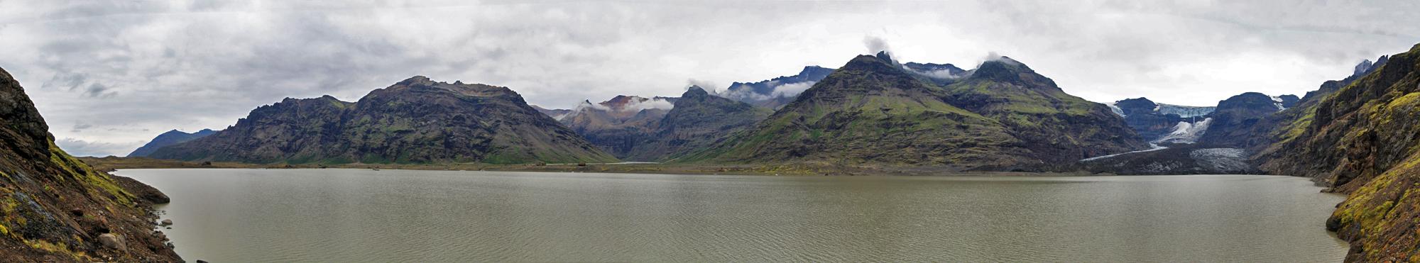 Lac et Glacier Morsarjokull (Skaftafell)