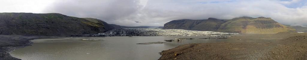 Le Glacier Skaftafellsjokull et son lac (Skaftafell)