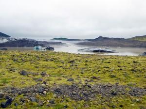 Lac du Svinafellsjokull et ses icebergs (Skaftafell)