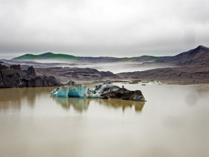Iceberg sur le Lac du Svinafellsjokull (Skaftafell)