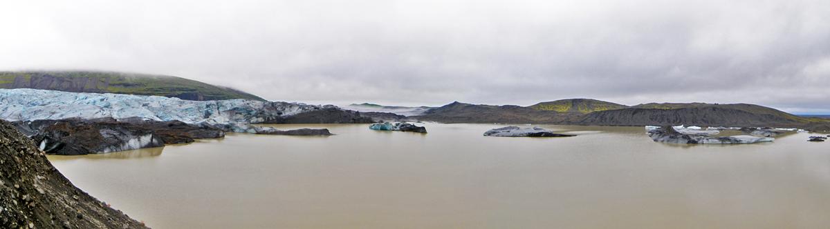 Lac du Svinafellsjokull (Skaftafell)