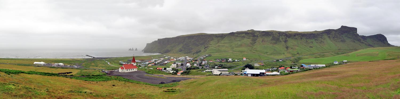 Ville de Vik i Myrdal, Islande