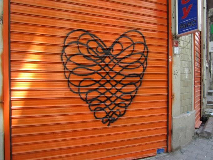Un cœur dans Galata, Istanbul Turquie