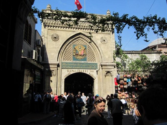 Entrée du Grand Bazar, Istanbul Turquie