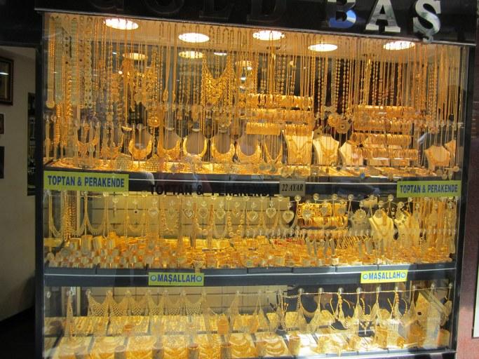 Marché de l'or, Istanbul Turquie