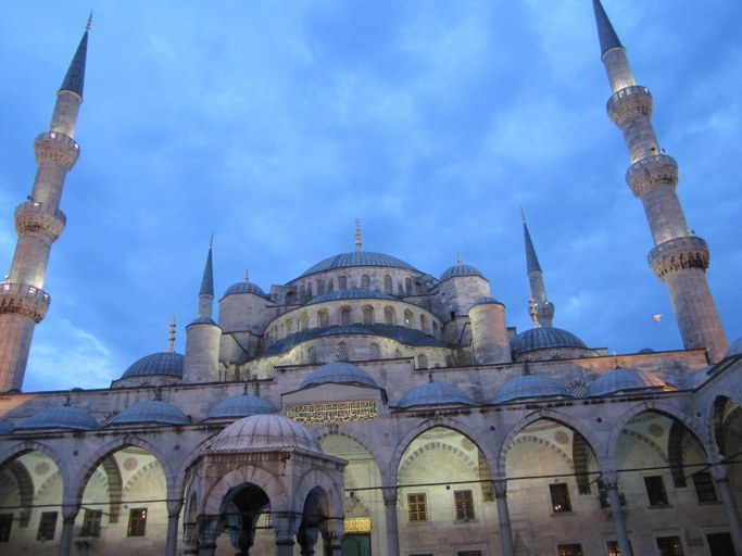 Mosquée Bleue de nuit, Istanbul Turquie