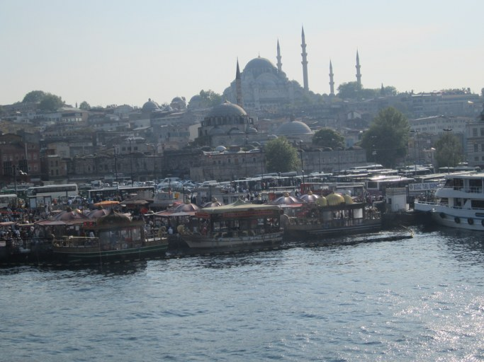 Le pont de Galata, Istanbul Turquie