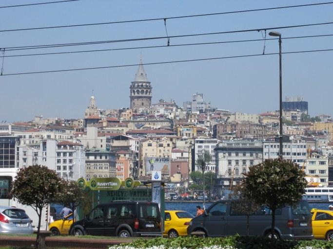 La tour de Galata, Istanbul Turquie
