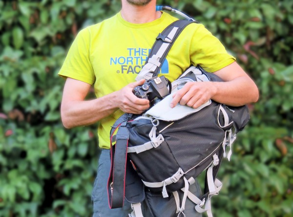 Test Sac LowePro Sport Photo 200 aw (poche photo latérale)