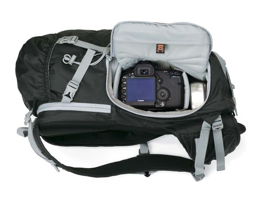 Sac LowePro Sport Photo 200 aw (poche latérale photo)