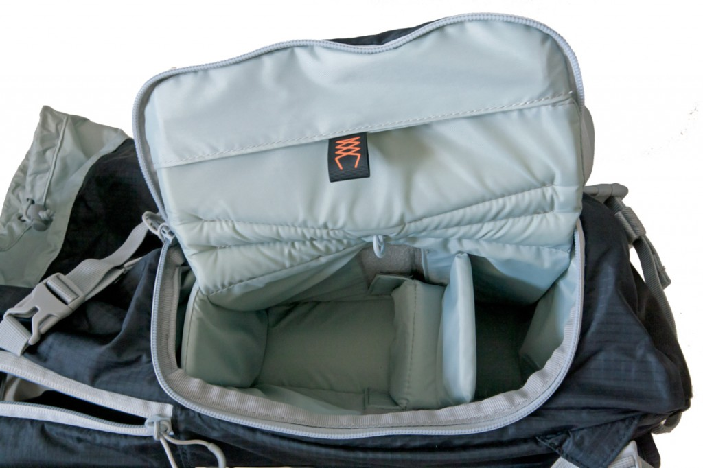 Test LowePro Sport Photo 200 aw (poche latérale photo)