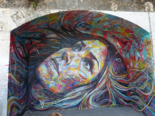 David Walker - In Situ Festival Street Art Aubervilliers